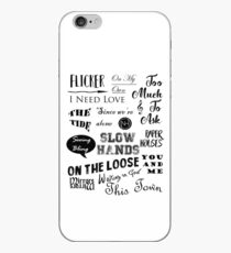 Vinilo o funda para iPhone Flicker Songs | Niall Horan