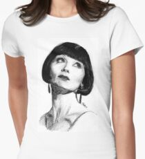 The Honourable Miss Phryne Fisher Women's Fitted T-Shirt