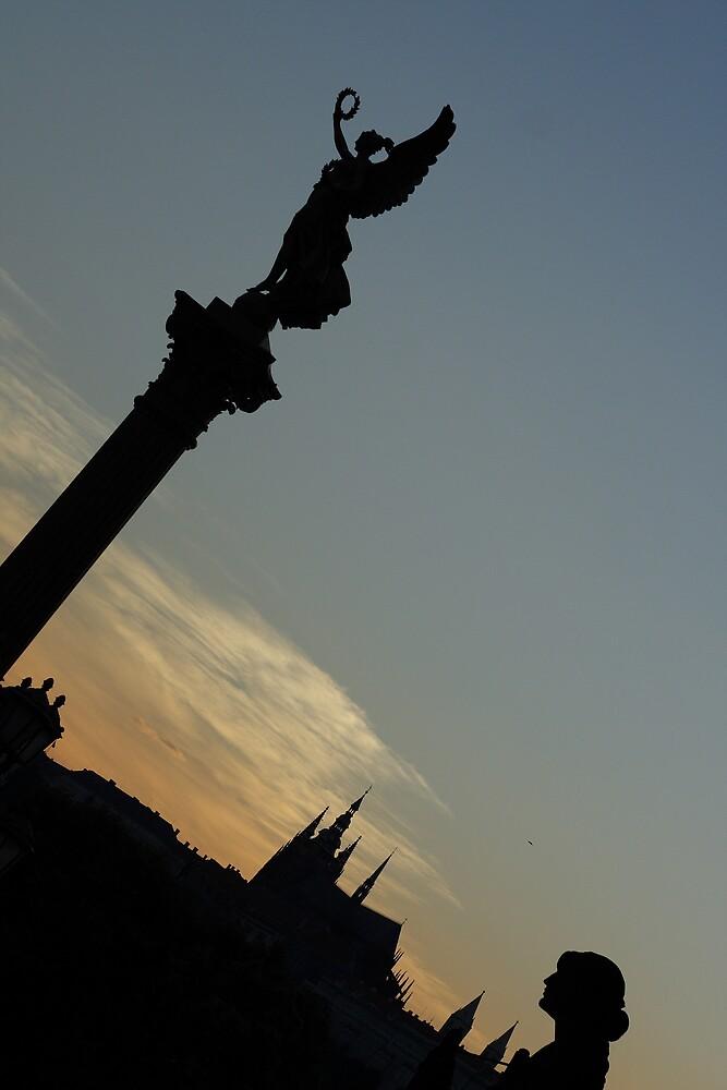 Prague evenings... by martrix