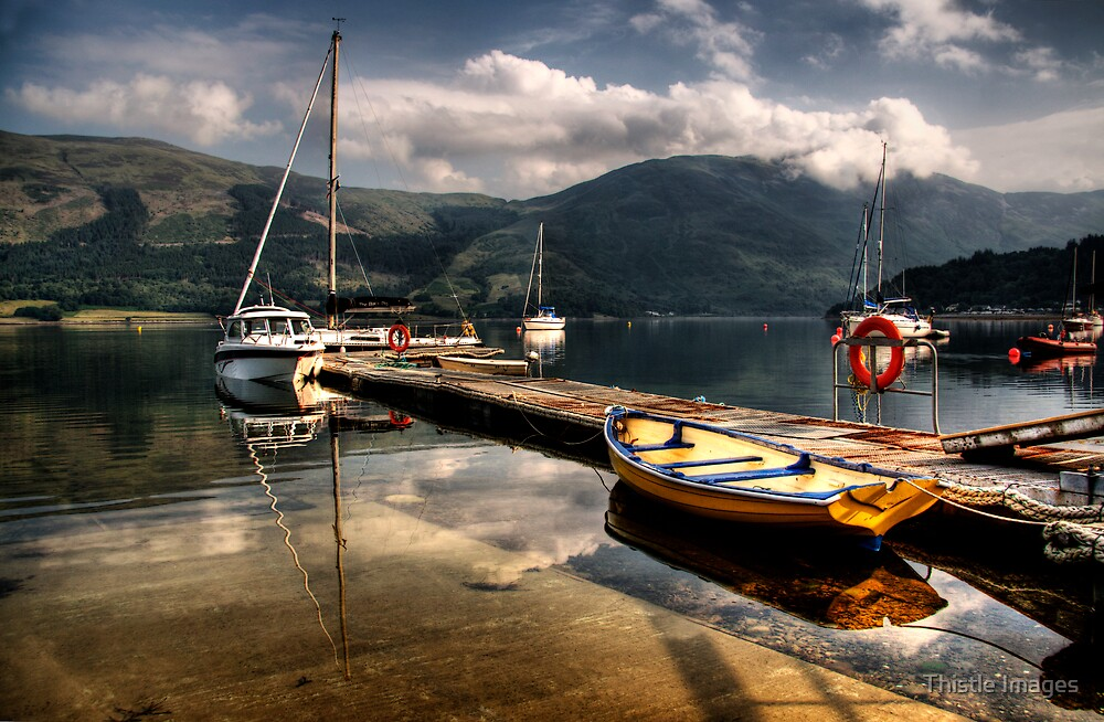 A Scottish Scene by Thistle Images