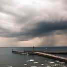 Storm Over Whitby by Martyn Robertshaw
