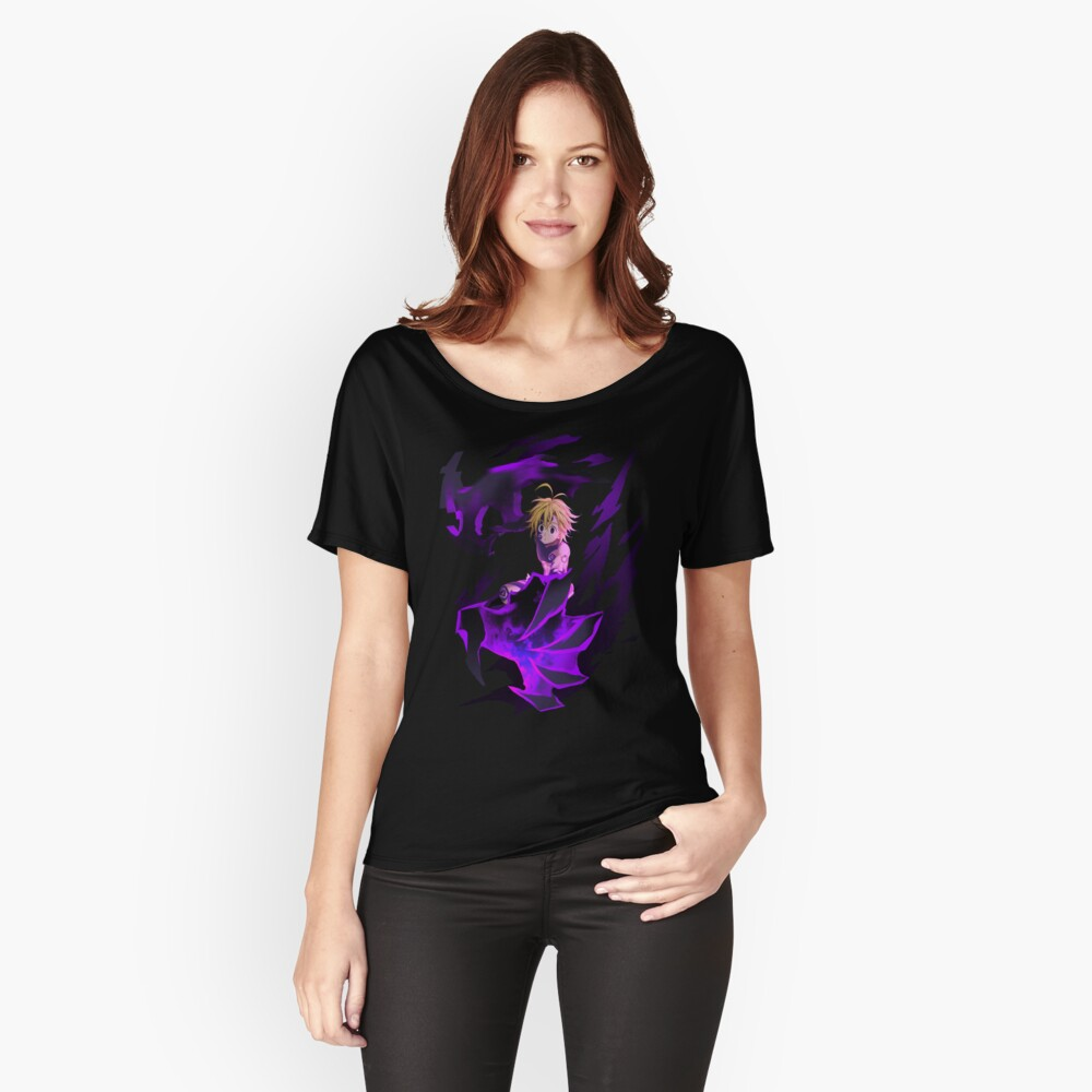 Meliodas, the Dragon's Sin of Wrath Women's Relaxed Fit T-Shirt Front