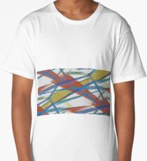 Lines always lines Long T-Shirt