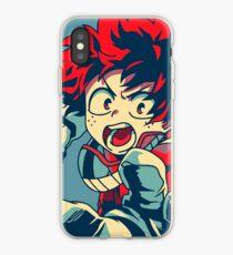 Boku no Hero Academia Midoriya iPhone Case