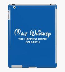 Malt Whiskey (Disney PARODY) iPad Case/Skin
