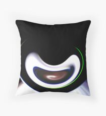 Abstracted Cam Throw Pillow