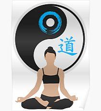 Jing Jang - Harmony - Yoga - Joga Poster