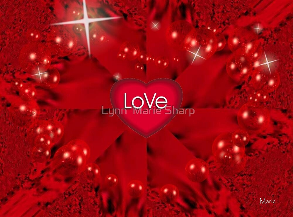 The Greatest of These Is Love by Marie Sharp