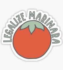 Legalize Marinara Sticker