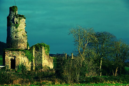 Rural Tower In Acidic Light  by rorycobbe