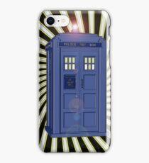 TARDIS CLASSIC VORTEX 1 iPhone Case/Skin