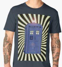 TARDIS CLASSIC VORTEX 1 Men's Premium T-Shirt