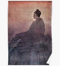 SPIRITUAL, Meditate, Buddha, The Victory of Buddha, Buddhist, Buddhism,  Poster