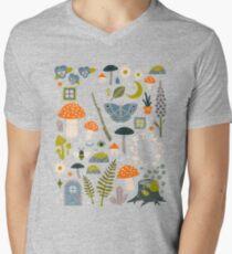 Fairy Garden V-Neck T-Shirt