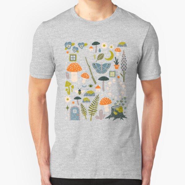 Fairy Garden Slim Fit T-Shirt