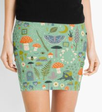 Fairy Garden Mini Skirt