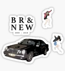 brand new - science fiction Sticker