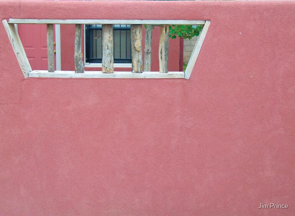 Adobe Wall by Jim Prince