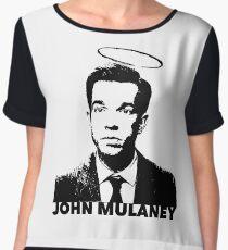 John Mulaney Chiffon Top