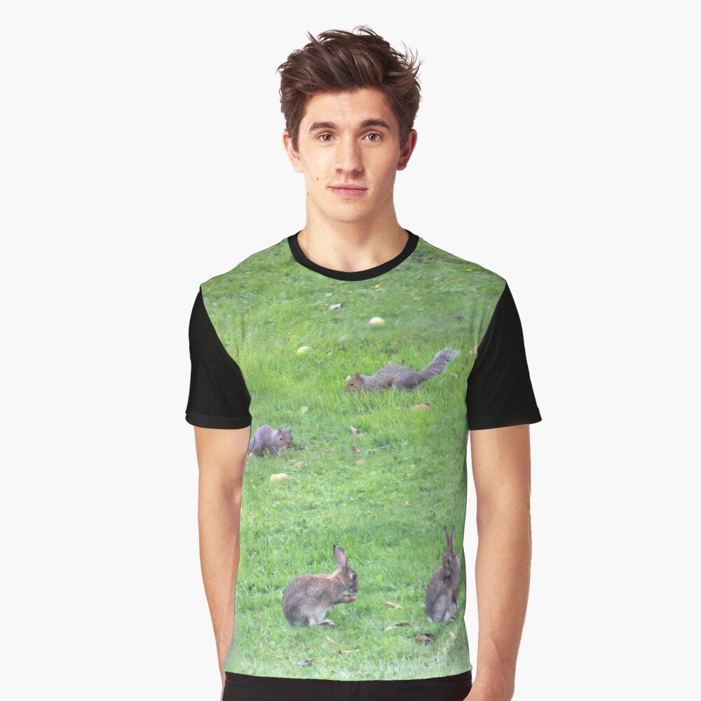 Rodents romping Graphic T-Shirt Front