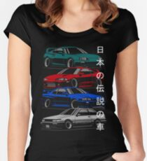 JDM Legends Women's Fitted Scoop T-Shirt