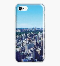 NYC above Bloomberg iPhone Case/Skin