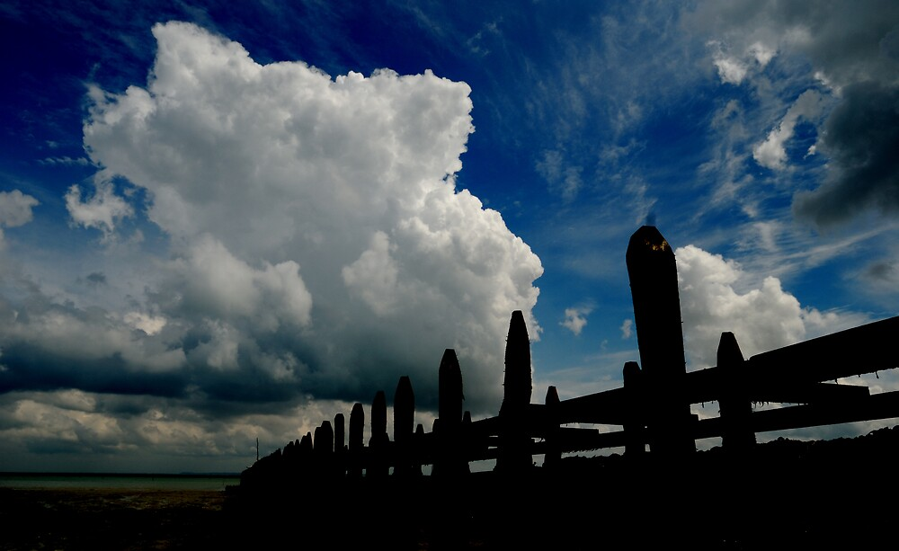 Clouds over Cancale by ragman