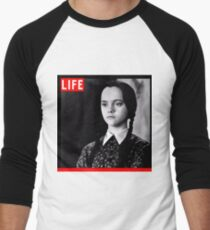 Life Wednesday Addams  Men's Baseball ¾ T-Shirt