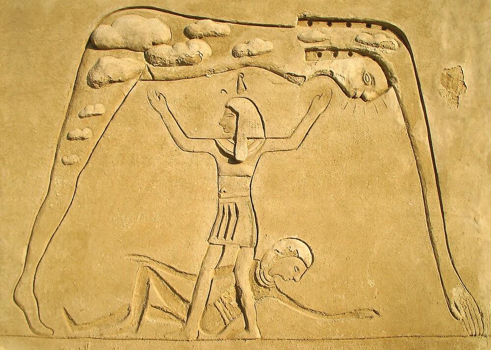 Eygptian Sand Sculpture by abby hughes