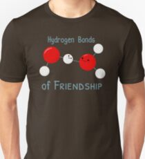 Hydrogen Bonds of Friendship Unisex T-Shirt