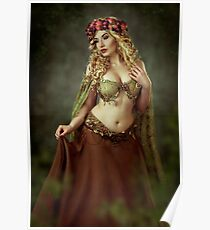 Spring Fairy Poster