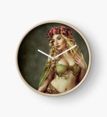 Spring Fairy Clock