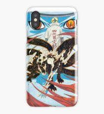Minato with Naruto (Kyubi) iPhone Case/Skin