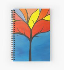Colorful Tree Spiral Notebook