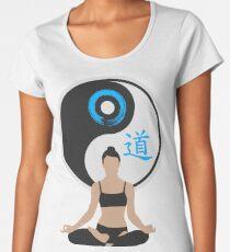 Jing Jang - Harmony - Yoga - Joga Women's Premium T-Shirt