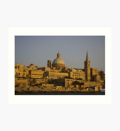 Valletta Art Print