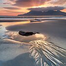 Singing Sands. Rock Pool at Sunset. Isle of Eigg. Small Isles. Scotland. by PhotosEcosse