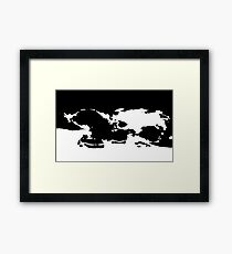 what do you see Framed Print
