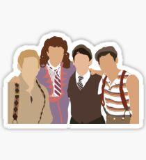 Minimalistic Newsies  Sticker