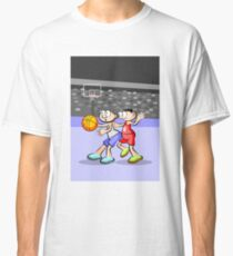 Basketball player defending his hoop Classic T-Shirt