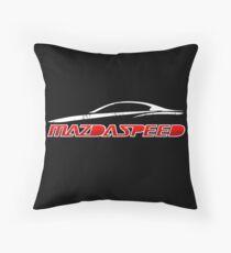 Mazdaspeed Throw Pillow