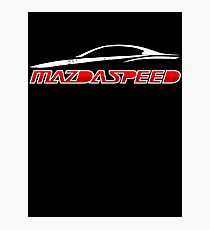 Mazdaspeed Photographic Print