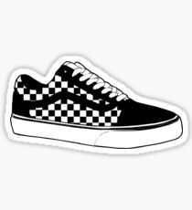 Van Checkboard Old Skool Shoes Sticker