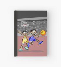 Basketball player drops the ball Hardcover Journal
