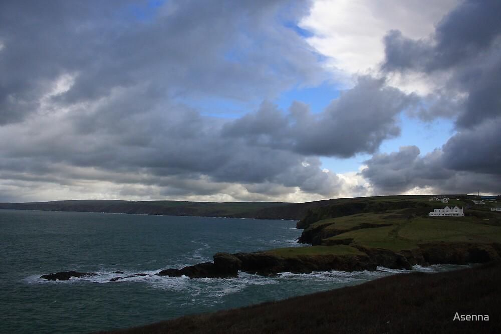 Cornish Coastline by Asenna