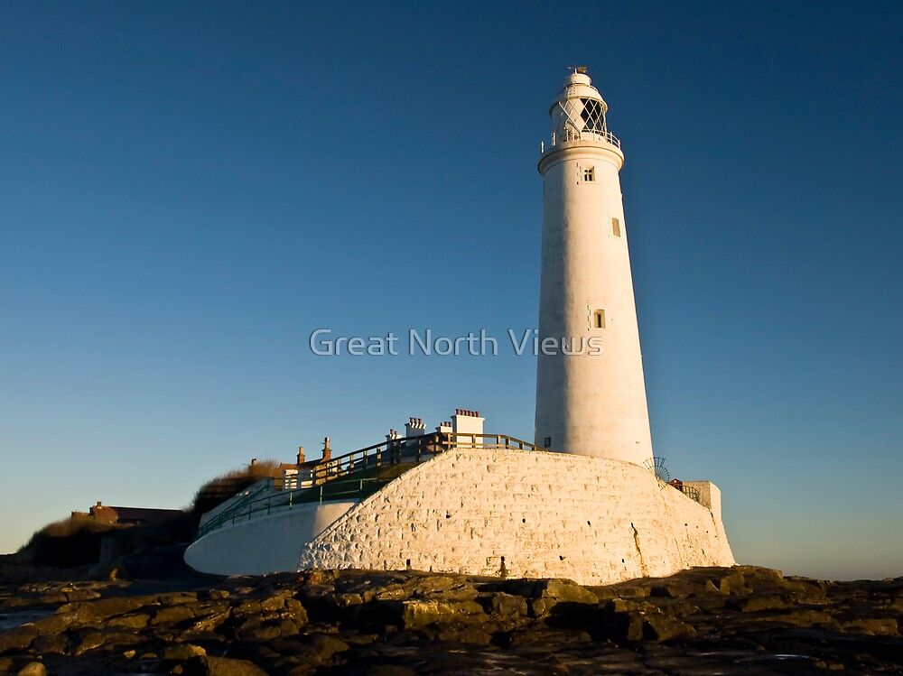 St. Mary's Lighthouse by Great North Views