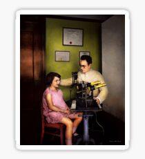Optometrist - The eye exam 1929 Sticker
