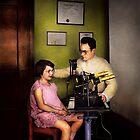 Optometrist - The eye exam 1929 by Michael Savad