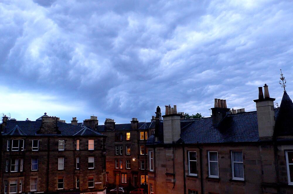 Weird sky by sallysparkle