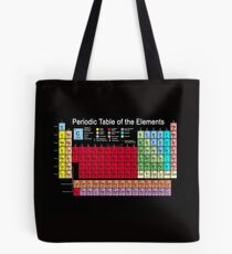 Periodic table of the Elements updated Tote Bag